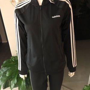 Adidas ladies jacket and leggings size M